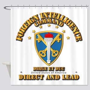 Foreign Intelligence Command - Ssi Shower Curtain