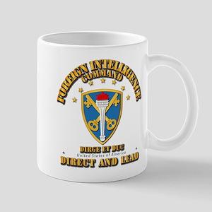 Foreign Intelligence Command - SSI Mug