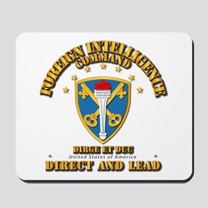 Foreign Intelligence Command - Ssi Mousepad