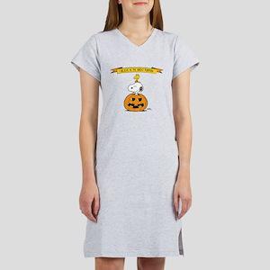 Peanuts Believe Great Pumpkin Women's Nightshirt