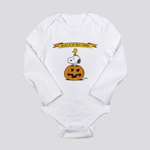 Peanuts Believe Great Pumpkin Body Suit