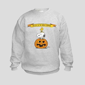 Peanuts Believe Great Pumpkin Sweatshirt