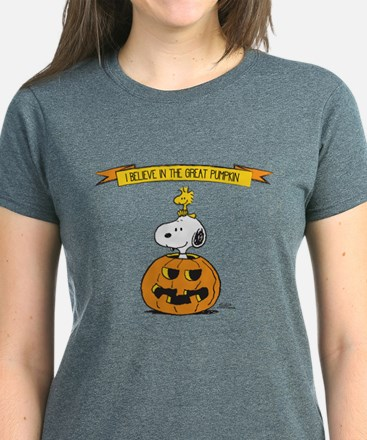 Peanuts Believe Great Pumpkin T-Shirt