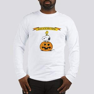 Peanuts Believe Great Pumpkin Long Sleeve T-Shirt