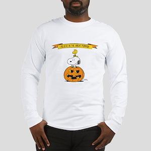 Peanuts Believe Great Pumpkin Long Sleeve T-Shirt