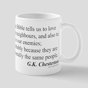 Chesterton Mug