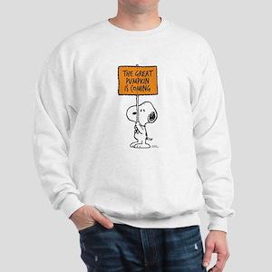 The Great Pumpkin Is Coming Sweatshirt