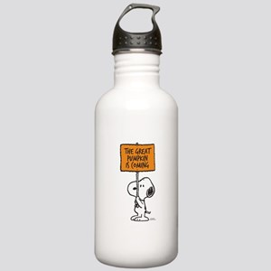 The Great Pumpkin Is C Stainless Water Bottle 1.0L