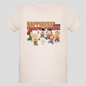 Peanuts Thankful For Friends T-Shirt