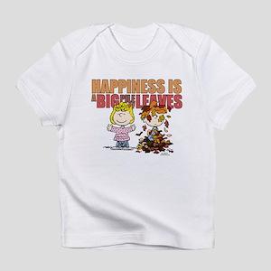 Peanuts Fall Leaves Infant T-Shirt