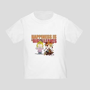 Peanuts Fall Leaves Toddler T-Shirt