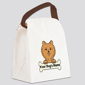 Personalized Pomeranian Canvas Lunch Bag