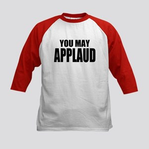 """ThMisc """"You May"""" Kids Baseball Jersey"""