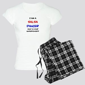 salsa dancer Women's Light Pajamas