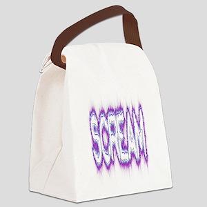 Scream Logo Canvas Lunch Bag