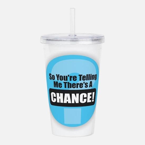 Chance Acrylic Double-wall Tumbler