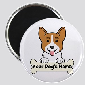 Personalized Corgi Magnet