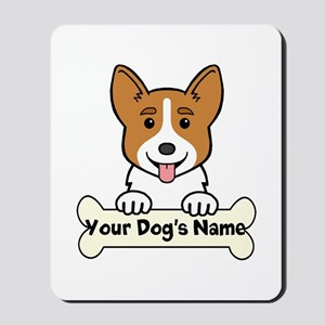 Personalized Corgi Mousepad