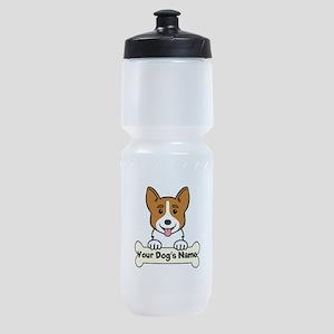 Personalized Corgi Sports Bottle