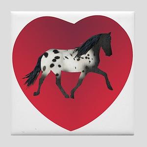 Love Walkaloosa Tile Coaster