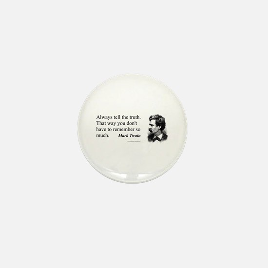 Twain Mini Button