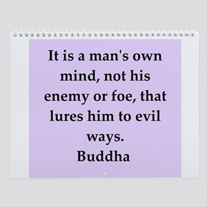 Buddha Quotes Wall Calendar