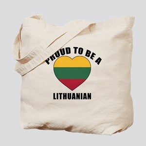 Lithuanian Patriotic Designs Tote Bag