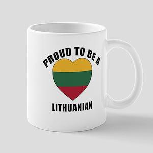 Lithuanian Patriotic Designs 11 oz Ceramic Mug