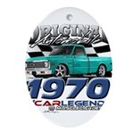 1970 Pickup Oval Ornament