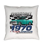1970 Pickup Everyday Pillow