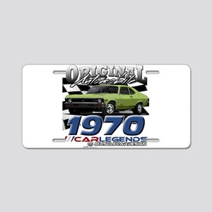 1970 Nova Aluminum License Plate