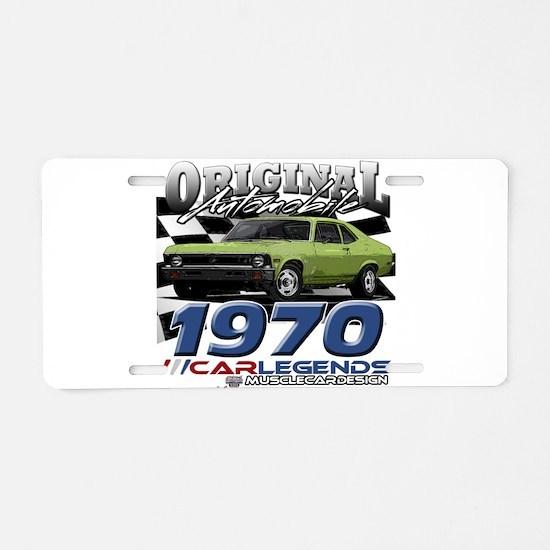 1970 Nova Aluminum License Plate