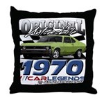 1970 Nova Throw Pillow