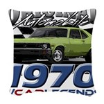1970 Nova Woven Throw Pillow
