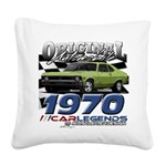 1970 Nova Square Canvas Pillow