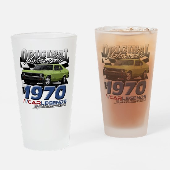 1970 Nova Drinking Glass