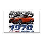 1970 z 28 Rectangle Car Magnet