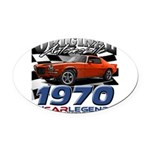 1970 z 28 Oval Car Magnet