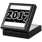 2017 License Plate Keepsake Box