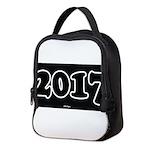 2017 License Plate Neoprene Lunch Bag