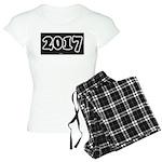 2017 License Plate pajamas