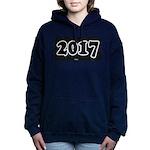 2017 License Plate Women's Hooded Sweatshirt