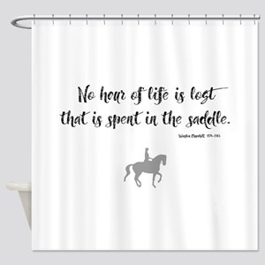 Horses Hour of Life (dressage) Shower Curtain
