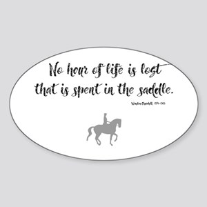 Horses Hour of Life (dressage) Sticker