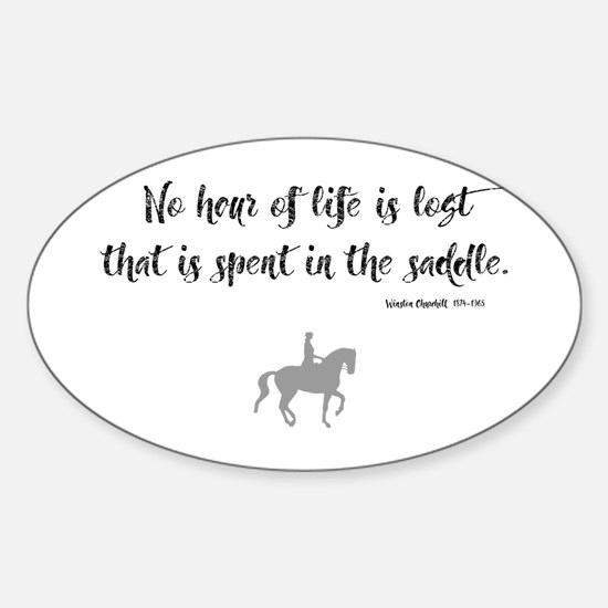 Horses Hour of Life (dressage) Decal