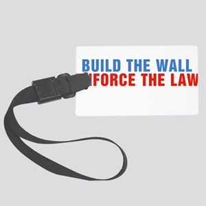 Build The Wall Enforce The Law Donald Trump Large