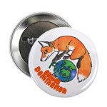 """Foxes 4 Global Domination (2.25"""" badge)"""