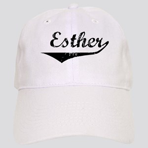 Esther Vintage (Black) Cap