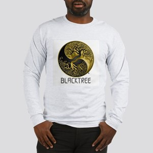 Blacktree420 Gold Foil Logo Long Sleeve T-Shirt