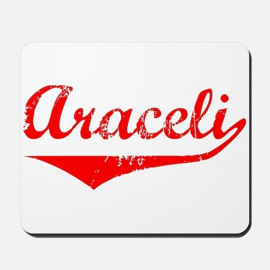Araceli Vintage (Red) Mousepad